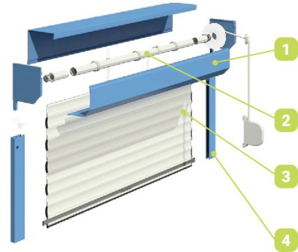 componente 2 - Rolete-termopane RU