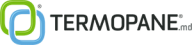 Logo Termopane.md Rolete Chisinau Moldova - Culori